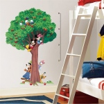 RoomMates Mickey & Friends Growth Chart Wall Decals