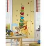 RoomMates Pooh & Friends Growth Chart Wall Decals