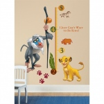 RoomMates The Lion King Growth Chart Wall Decals