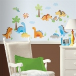 RoomMates Babysaurus Wall Decals