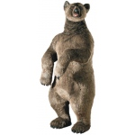 "Hansa® Toys Lifesize Grizzly Bear: 60"" H"