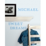 RoomMates Blue Alphabet Wall Decals