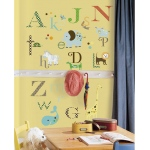 RoomMates Animal Alphabet Wall Decals