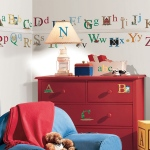 RoomMates Alphabet Wall Decals