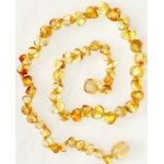 Eyla's Baltic Healing Amber Necklace: Honey, 18""