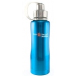 "Eyla's ""Boulder"" Triple Insulated Bottle with Screw Top: Turquoise Glow, 25oz/750ml"