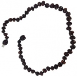 Eyla's Baltic Healing Amber Necklace: Cherry, 18""