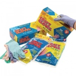 Hygloss Colored Craft Gloves: 100 Kids Size, Boxed