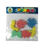 Hygloss Captain Creative Sponges: Assorted Colored Sponges, Bug Pack 6 Shapes