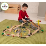 Kidkraft Construction Bucket Top Train Set: 61 pieces