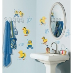 RoomMates Bubble Bath Wall Decals