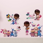 RoomMates Doc McStuffins Wall Decals
