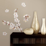 RoomMates Dogwood Flowers Wall Decals