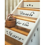 RoomMates Reach for the Stars Quote Wall Decals