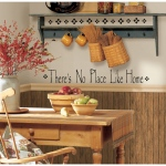 RoomMates There's No Place Like Home Quote Wall Decals