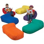 The Children's Factory Pod Pillows: Set of 6 Different Colors