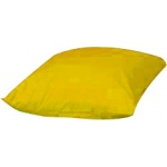 "The Children's Factory Square Floor Pillows: 27"", Yellow"