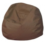 "The Children's Factory Round Bean Bag: 35"", Walnut"
