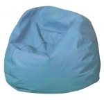 "The Children's Factory Round Bean Bag: 26"", Sky Blue"
