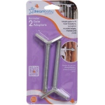 Dreambaby® Banister Gate Adaptors: Silver