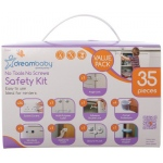 Dreambaby® No Tools Required Home Safety Kit: 35 Pieces