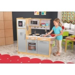 Kidkraft Uptown Natural Kitchen: • Large enough that multiple children can play at once