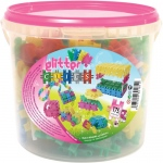 Clics Glitter: 175 Pieces