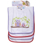 Dreambaby® Pullover Bibs: Pack of 4