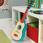 Kidkraft Lil' Symphony Guitar: Six authentic guitar strings – not simple wire like most toy guitars