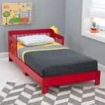 Kidkraft Houston Toddler Bed - Red: Fits most crib mattresses