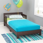 Kidkraft Houston Toddler Bed - Espresso: Fits most crib mattresses