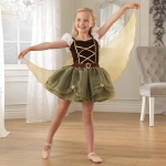 Kidkraft Pirate Winged Fairy - S: Gold piping on bodice and skirt for extra detail