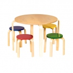Guidecraft Nordic Table & Chairs - Color