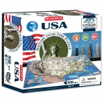 4D USA Cityscape Time Puzzle