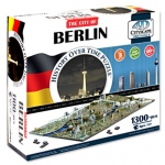 4D Berlin, Germany Cityscape Time Puzzle