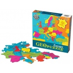 GeoPuzzle Europe Educational Geography Jigsaw Puzzle