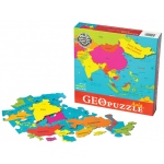 GeoPuzzle Asia Educational Geography Jigsaw Puzzle