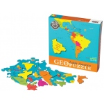 GeoPuzzle Latin America Educational Geography Jigsaw Puzzle
