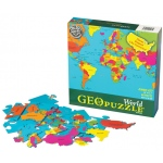 GeoPuzzle World Educational Geography Jigsaw Puzzle