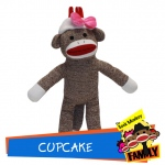 Cupcake from The Sock Monkey Family