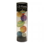 3-D Planets in a Tube, Glow in the dark