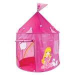 Girl's Pink Princess Play Castle Pop Up Tent