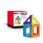 Guidecraft PowerClix Frames Starter Set -6pc: PowerClix, the magnetic building toy system; Six pieces of PowerClix Frames set; Fun colorful poster as an easy introduction to the PowerClix system (G9480)
