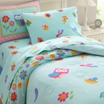 Wildkin Olive Kids Birdie Twin Lightweight Comforter Set