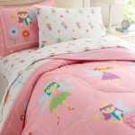 Wildkin Olive Kids Fairy Princess Twin Lightweight Comforter Set