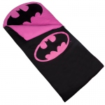 Wildkin Batman Pink Emblem Sleeping Bag