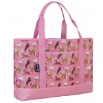 Wildkin Horses in Pink Tote-All