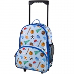 Wildkin Olive Kids Game On Rolling Luggage