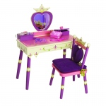 Wildkin Levels of Discovery Princess Wildkin Wildkin Princess Vanity Table & Chair Set