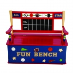Wildkin Levels of Discovery All Star Sports Wildkin Wildkin All Star Sports Bench Seat w/ Storage